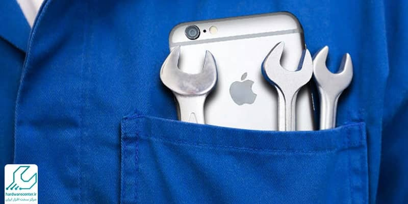 تعمیر گوشی آیفون اپل