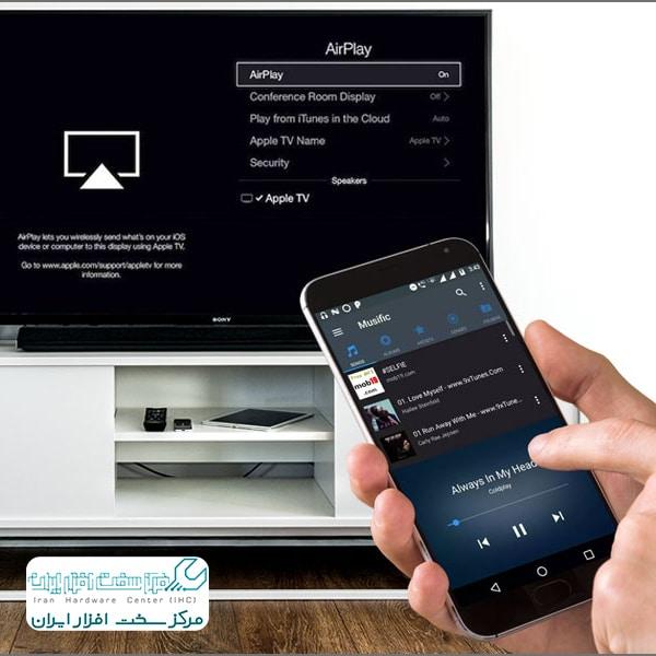 استفاده از اپل TV و قابلیت AirPlay