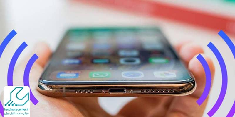 کم شدن صدای مکالمه گوشی اپل