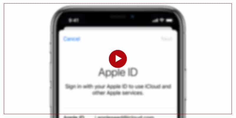 آموزش ریست کردن یا تغییر سوال امنیتی اپل آیدی