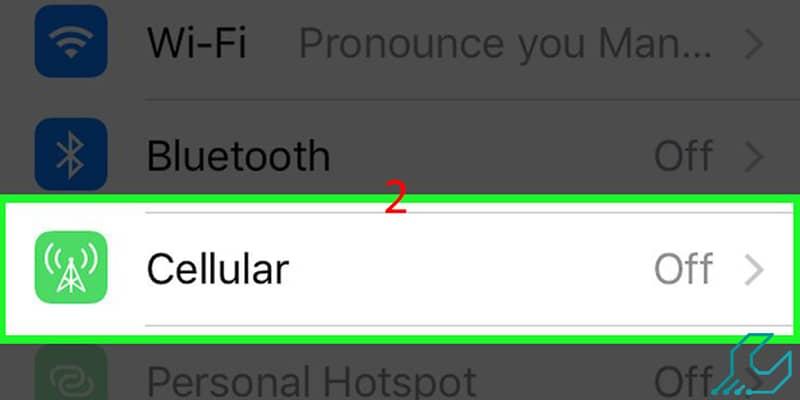 اتصال به اینترنت آیفون با وای فای